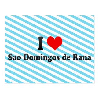 I Love Sao Domingos de Rana, Portugal Postcard