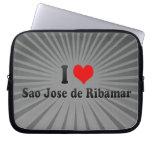 I Love Sao Jose de Ribamar, Brazil Computer Sleeve