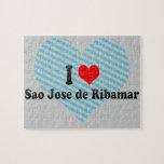 I Love Sao Jose de Ribamar, Brazil Jigsaw Puzzle