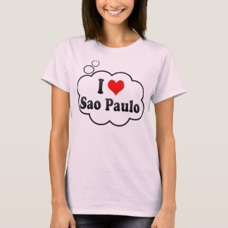 I Love Sao Paulo, Brazil T-Shirt