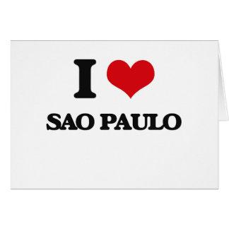 I love Sao Paulo Cards