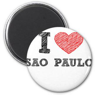 I Love Sao Paulo Magnet