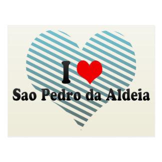 I Love Sao Pedro da Aldeia, Brazil Postcard