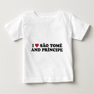 I Love São Tomé and Príncipe Baby T-Shirt