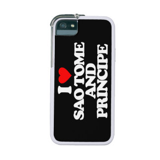 I LOVE SAO TOME AND PRINCIPE COVER FOR iPhone 5/5S