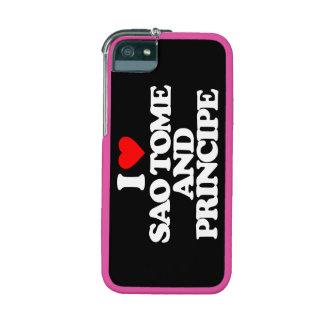 I LOVE SAO TOME AND PRINCIPE iPhone 5/5S COVERS