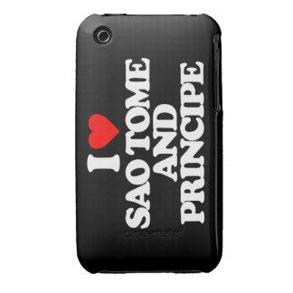 I LOVE SAO TOME AND PRINCIPE iPhone 3 COVER