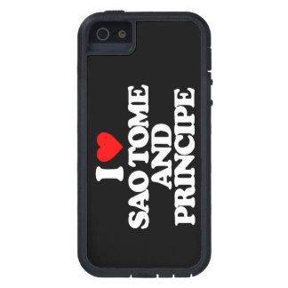 I LOVE SAO TOME AND PRINCIPE iPhone 5 CASE