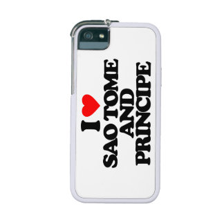 I LOVE SAO TOME AND PRINCIPE COVER FOR iPhone 5
