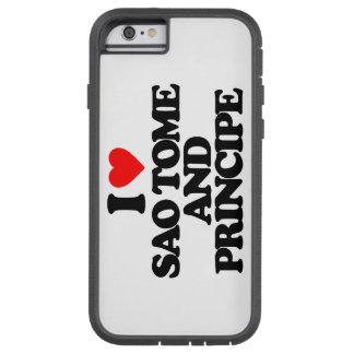 I LOVE SAO TOME AND PRINCIPE TOUGH XTREME iPhone 6 CASE