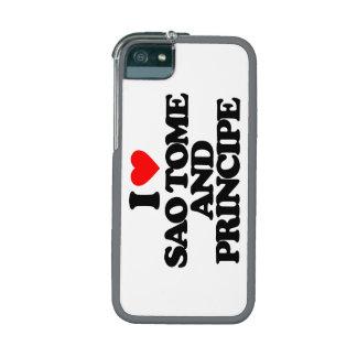 I LOVE SAO TOME AND PRINCIPE iPhone 5/5S COVER