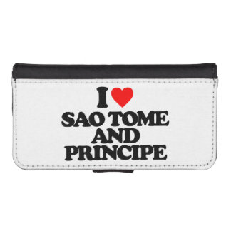 I LOVE SAO TOME AND PRINCIPE iPhone 5 WALLETS