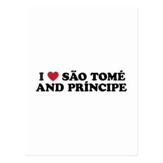 I Love São Tomé and Príncipe Postcard
