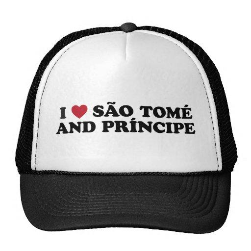 I Love São Tomé and Príncipe Trucker Hat