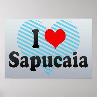 I Love Sapucaia, Brazil Poster
