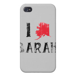 I LOVE SARAH 2 Faded.png iPhone 4 Cover