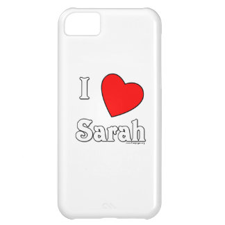 I Love Sarah Cover For iPhone 5C