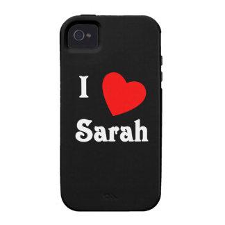 I Love Sarah Case-Mate iPhone 4 Case