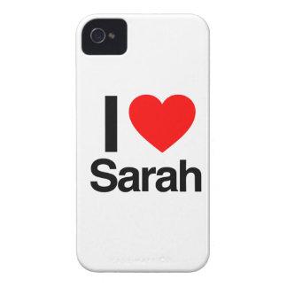 i love sarah iPhone 4 cover