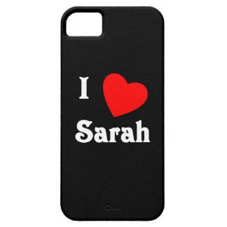 I Love Sarah iPhone 5 Cases