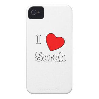 I Love Sarah Case-Mate iPhone 4 Cases