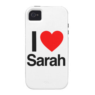 i love sarah vibe iPhone 4 cover