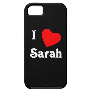 I Love Sarah iPhone 5 Covers