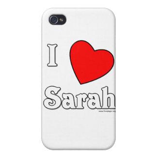 I Love Sarah iPhone 4/4S Case