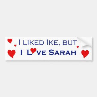 I Love Sarah Palin-1 Bumper Stickers