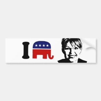 I Love Sarah Palin 1 Bumper Stickers