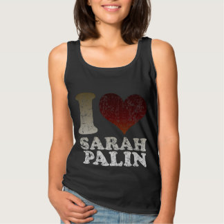 i Love Sarah Palin Basic Tank Top