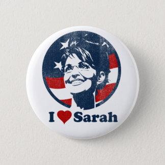 I Love Sarah Palin button
