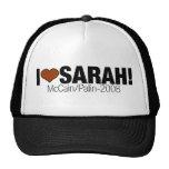 I LOVE SARAH PALIN HAT