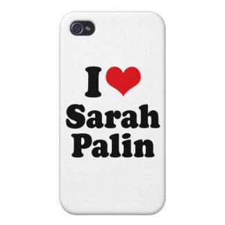 I LOVE SARAH PALIN iPhone 4/4S COVER