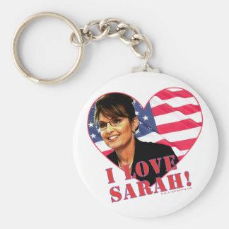 I love Sarah Palin Key Chains