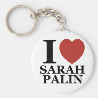 I Love Sarah Palin Keychains