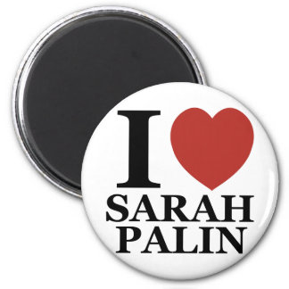 I Love Sarah Palin Magnet
