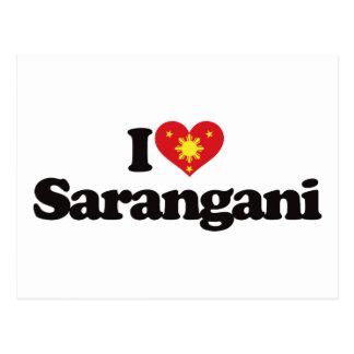 I Love Sarangani Post Card