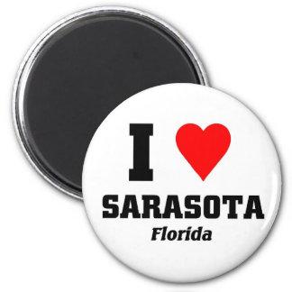 I love Sarasota, Florida Magnet
