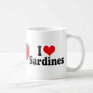 I Love Sardines Classic White Coffee Mug