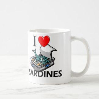 I Love Sardines Coffee Mug