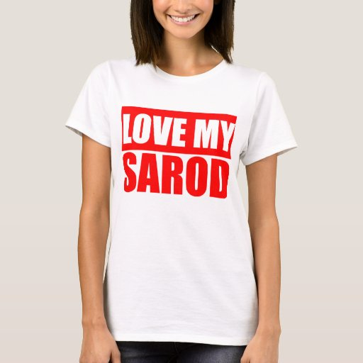 Love My Sarod Indian String Instrument Basic T-Shirt
