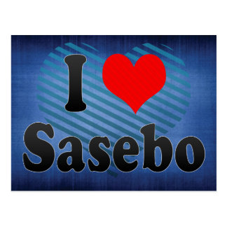 I Love Sasebo, Japan Postcard