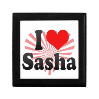 I love Sasha Keepsake Box