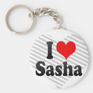 I love Sasha Keychain
