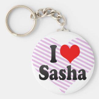 I love Sasha Key Chain