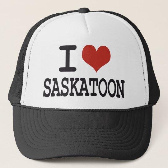I love Saskatoon Trucker Hat