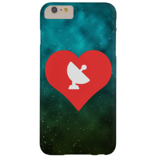 I Love Satellite Dishes Icon Barely There iPhone 6 Plus Case