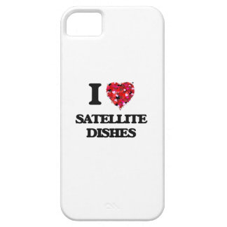 I love Satellite Dishes iPhone 5 Covers