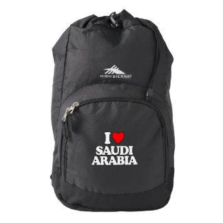I LOVE SAUDI ARABIA BACKPACK